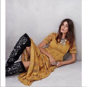 For Love & Lemons Maxi Dress XS